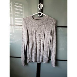 Banana Republic Cable Knit Crew Neck Sweater